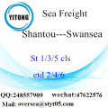 Shantou Port LCL Consolidation To Swansea