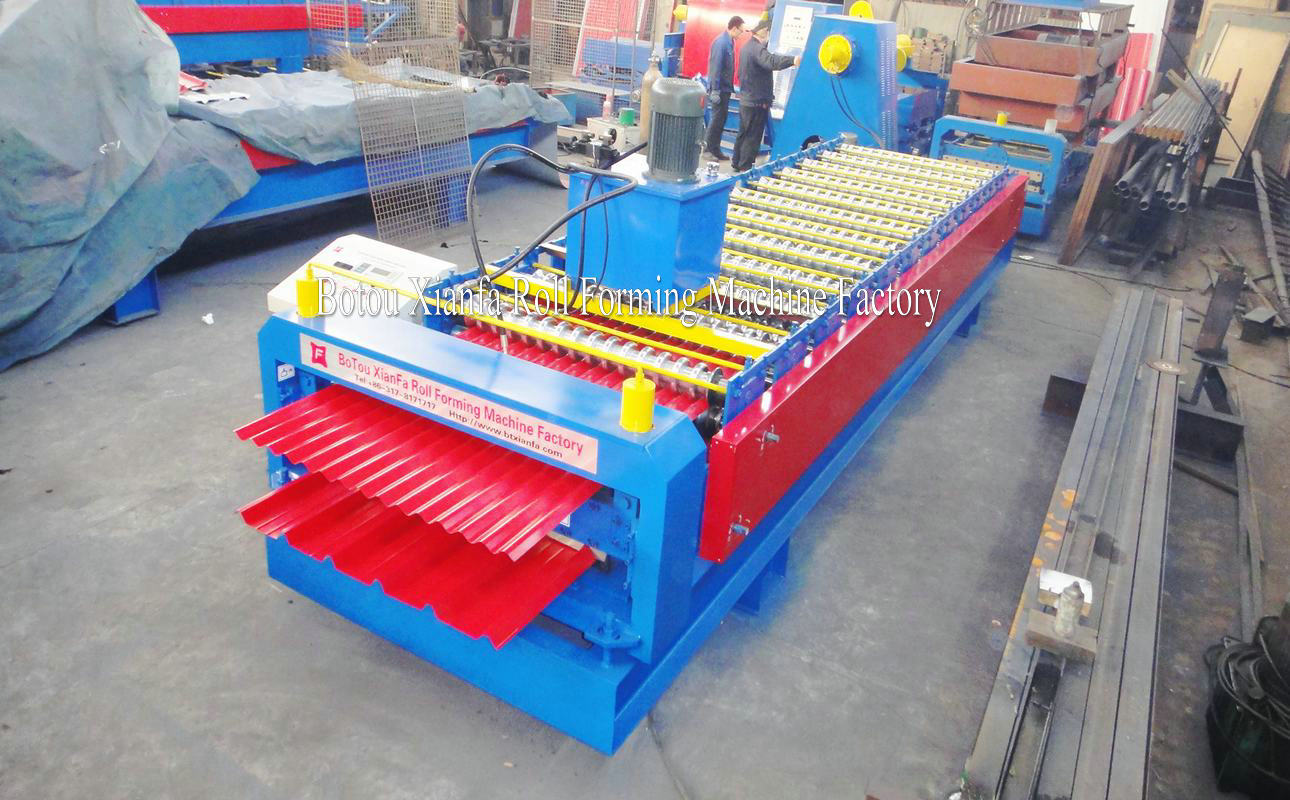 double deck IBR Corrugated forming machine
