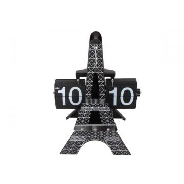 Magnificent 3D Eiffel-Tower-Shape Flip Clock