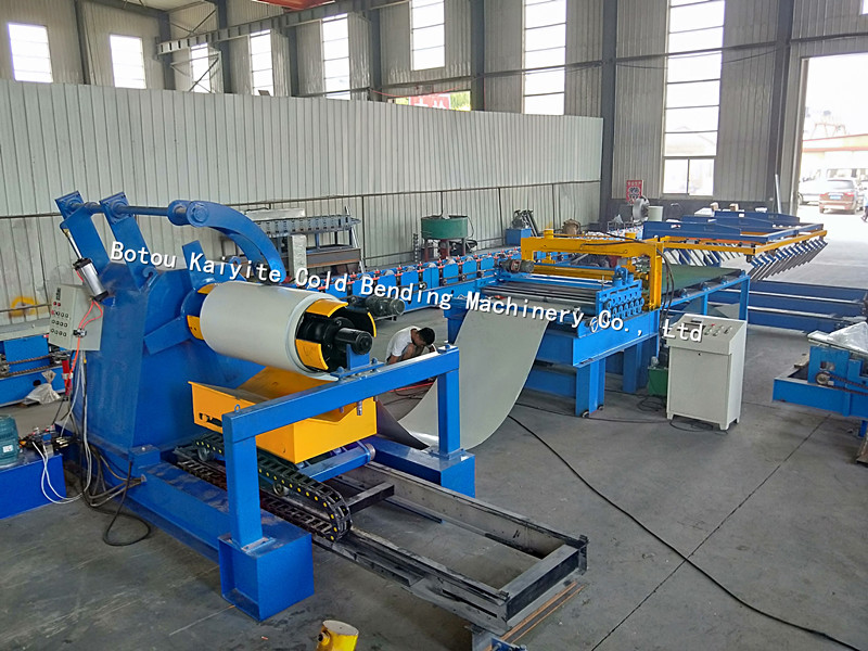 sltting and cut to length machine