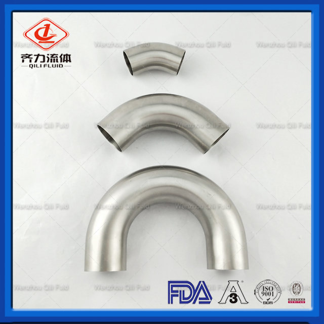 High Pressure Sanitary Types of Elbow In Piping