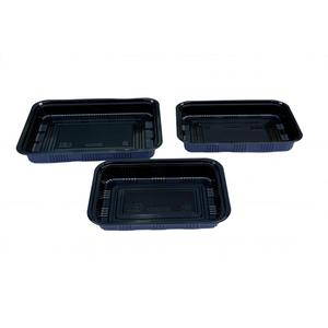 Wholesale Price China for China Plastic Rectangular Tableware,Plastic Tableware,Plastic Plates Manufacturer Disposable Food Containers Bento Lunch Boxes export to Germany Supplier