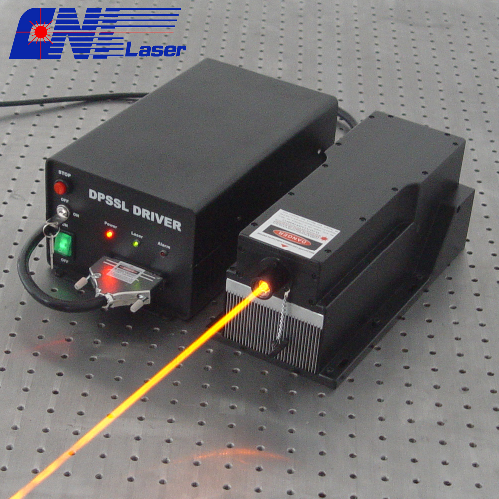 4500mw 589nm solid orange laser for collimation