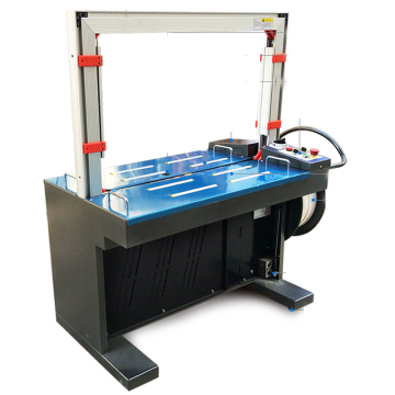 automatic strapping machine with 12*0.6mm PP strapping tape
