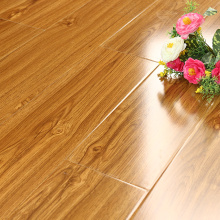 China for High Glossy Series Laminate Flooring 11mm waterproof high glossy wood flooring supply to Estonia Manufacturer