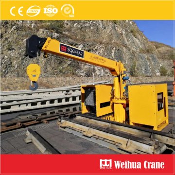 Railway Track Collection Crane