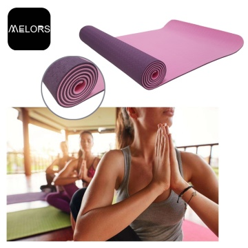 TPE High Density Yoga Mat Gym Fitness Mat