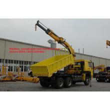 China for Mini Crane Truck 12 Tons Sinotruk Truck Mounted Telescopic Boom Crane export to Heard and Mc Donald Islands Factories
