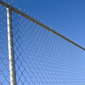 Galvanized Top Price  Chain Link Wire Fence