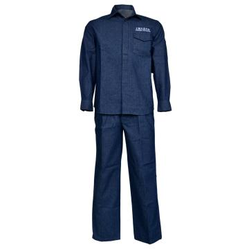 Fire Resistant Cotton Denim Working Suit