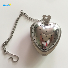 China for Tea Infuser Stainless Steel Heart Shape Tea Infuser export to Spain Manufacturers