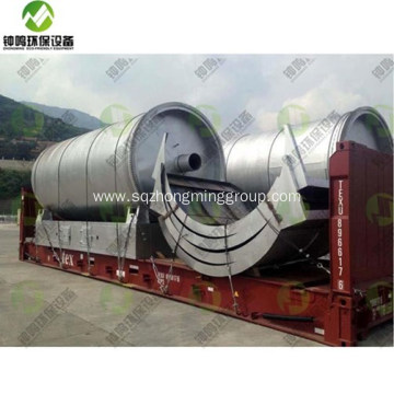 Pyrolysis Waste to Fuel Oil Device