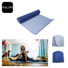 Hot Sale for Yoga Fitness Mat Melors TPE Customized Size Yoga Fitness Mat supply to Italy Manufacturer