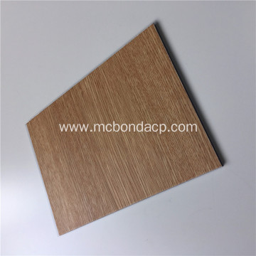 ACP Acm Panel Aluminium Exterior Wood Wall Cladding