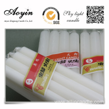 Decoration Paraffin Wax White Dye Candle