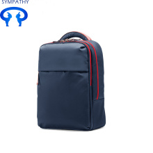 Short Lead Time for Black Nylon Bag Custom business backpack computer bag waterproof bag export to Poland Factory