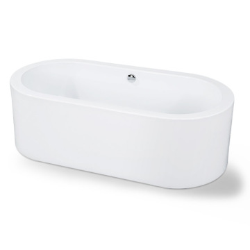 Acrylic Stand Alone Bathtubs in White