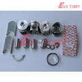 excavator 4HE1TC engine gasket bearing piston ring liner