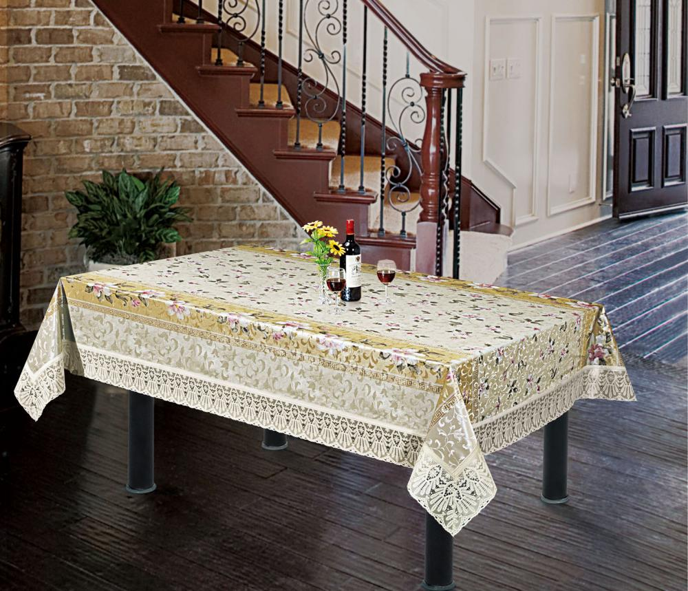 Lace Edge Readymade Tablecloth