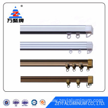 China for Aluminum Rail High Quality Aluminum Curtain Rail Track Profiles supply to Marshall Islands Factories