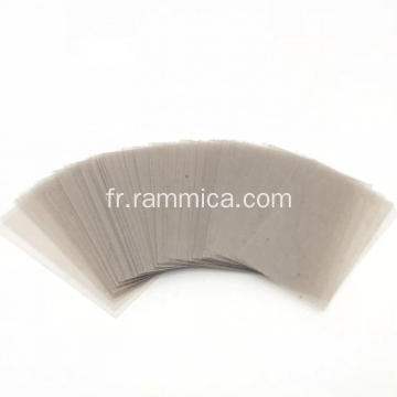 56x28x0.3mm Mica naturel coupé