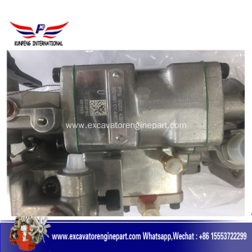Short Lead Time for for Cummins Engine Part Fuel injector pump 4061206 for shantui bulldozer engine supply to Mayotte Factory
