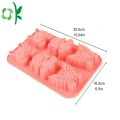 Oval Shaped Silicone Cake 3D Design Cake Mold