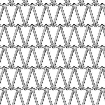Stainless steel Deco metal architectural mesh