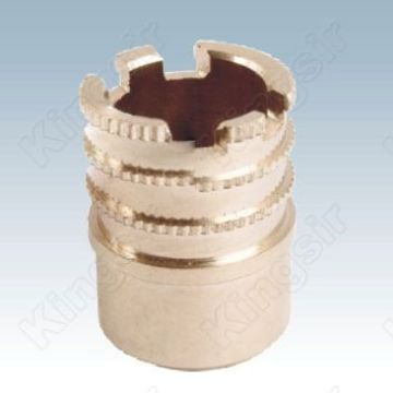 Nickel-plated Straight Pipe Fitting