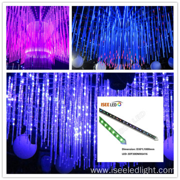 3D vertical tube DMX led video disco lights