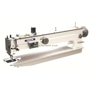 Long Arm Top and Bottom Feed Heavy Duty Zigzag Sewing Machine