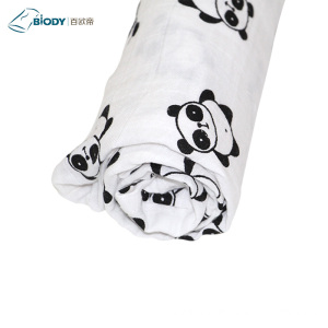Reliable Supplier for China Muslin Baby Blanket,Muslin Blankets,Baby Swaddle Blankets Manufacturer and Supplier Newborn Cotton Muslin Baby Swaddle Blanket Satin Trim export to Germany Suppliers
