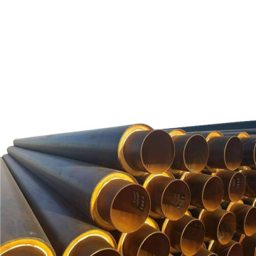 Polyurethane Coating Foam Filled Insulation Steel Pipe