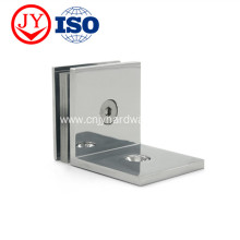 Wall Mount Solid Brass Glass Clamp