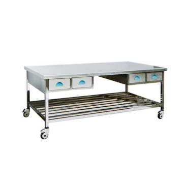 Hospital stainless steel workbench