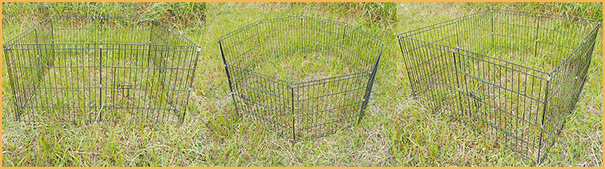 black wire pet dog playpen