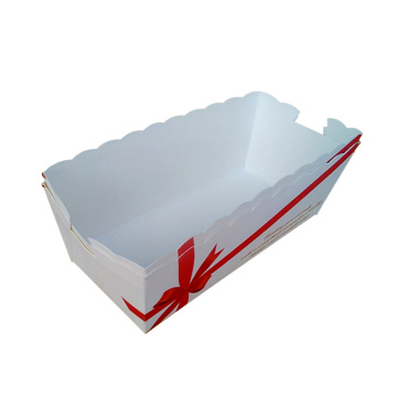 Cardboard Disposable Burger Tray
