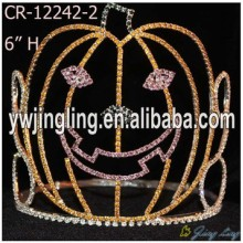6 Inch Pumpkin Pageant Crowns