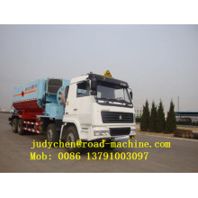 Sinotruk 8T Site mixed granular ANFO Explosive Truck