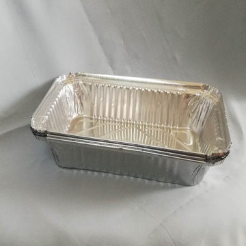 High Quality Fast Food Aluminum Foil Tray 8011
