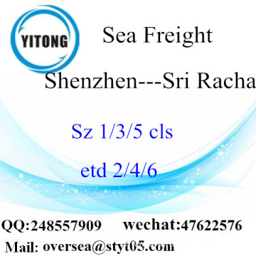Shenzhen Port LCL Consolidation To Sri Racha