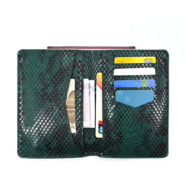 Travel Wallet Soft Leather Passport Cover Case