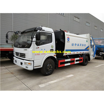 Dongfeng 156HP 5T Garbage Compactor Trucks