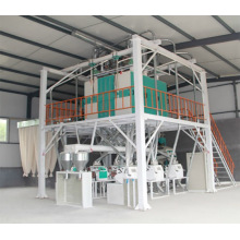Hot selling attractive for Large Flour Machine Steel frame 40 tons large flour mill supply to Turks and Caicos Islands Importers