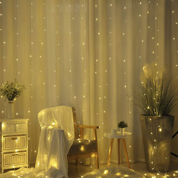 Christmas Wedding LED Curtain Icicle Lights