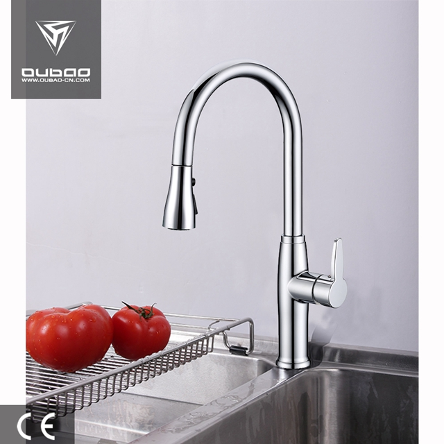 Deck Mount Single Handle Kitchen Tap