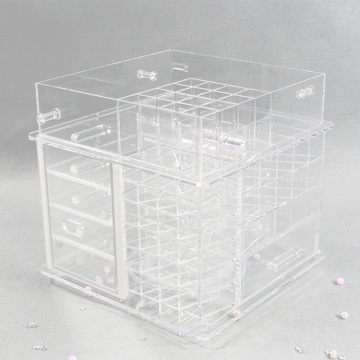 Best Clear Acrylic Makeup Organizer Countertop