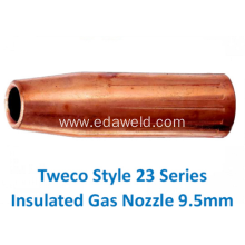 Tweco 23-37 Insulated Gas Nozzle 9.5mm