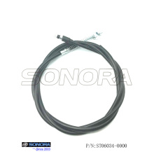 Supply for Qingqi Scooter Rear Brake Cable Znen Scooter ZN50QT-30A Rear Brake Cable (P/N:ST06034-0000) Top Quality supply to Russian Federation Supplier