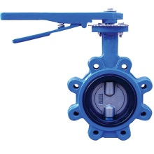 Excellent quality price for Cast Iron Butterfly Valve Butterfly Valve Lug Type export to United States Wholesale